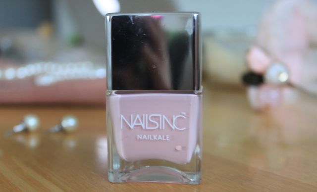 Nails Inc NailKale Mayfair Lane nail polish