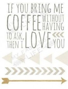 Coffee LOVE YOU