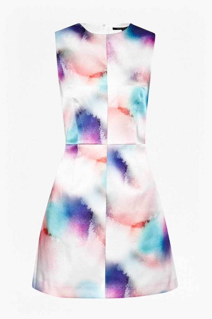 Soft Spray A-Line Dress