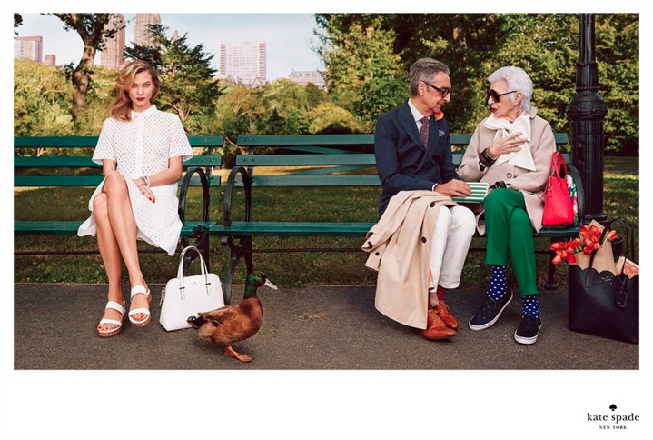 Kate Spade SS15 campaign