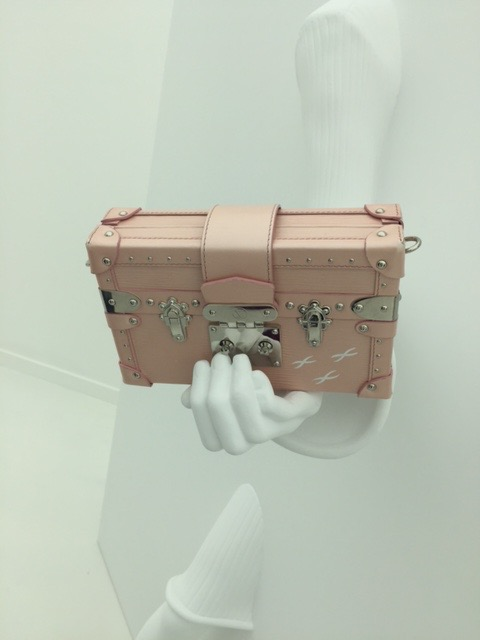LV pink clutch AW15