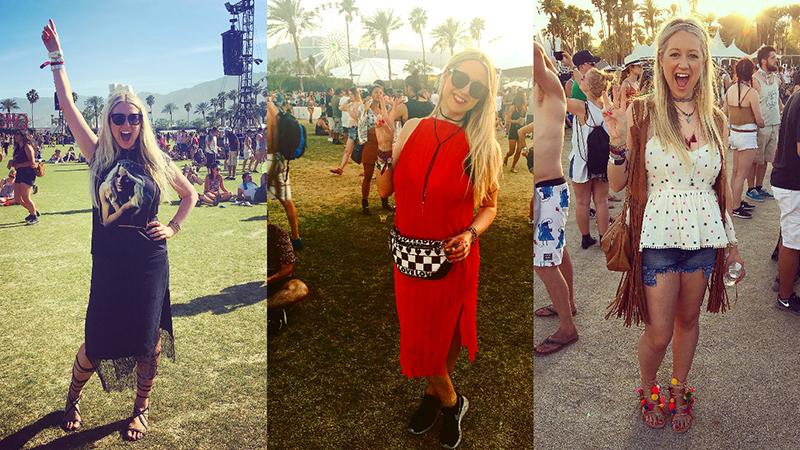 Sarah Woo Style File Coachella